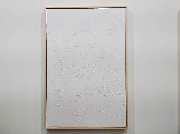 Dinh Q. Lê 黎光定《The Texture of Memory #11》,2001