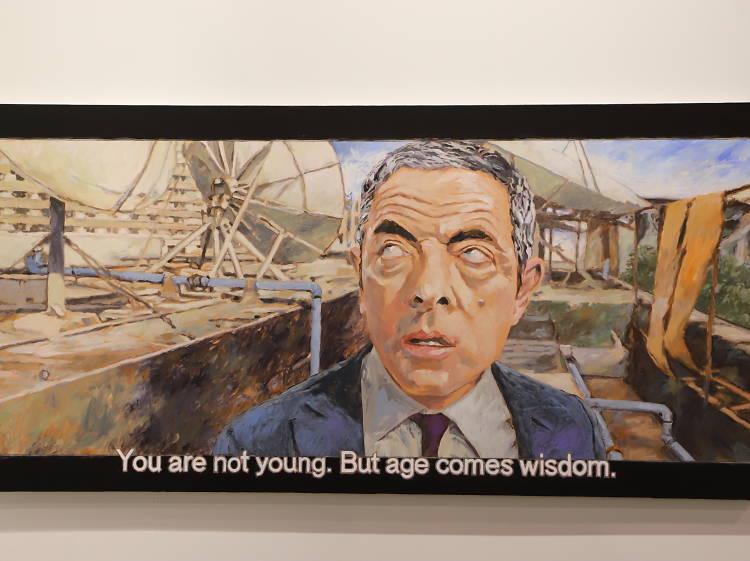周俊輝《Johny English,「Age comes wisdom」》,2019