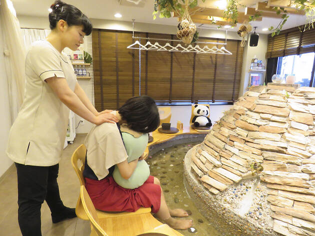Best foot bath cafés in Tokyo