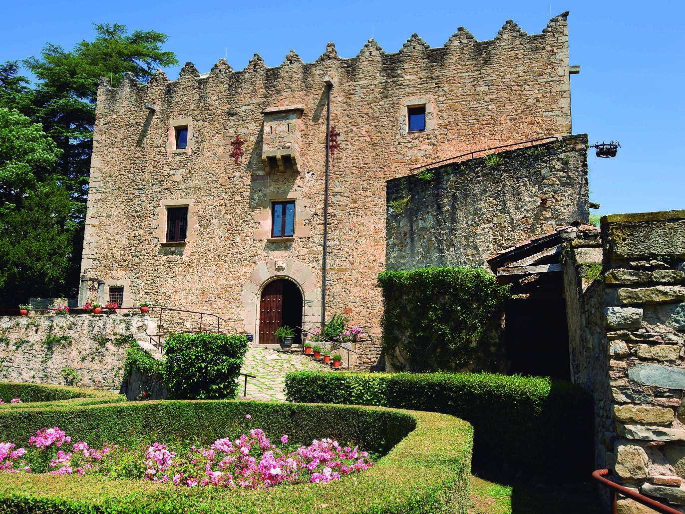 Castillo de Montesquiu