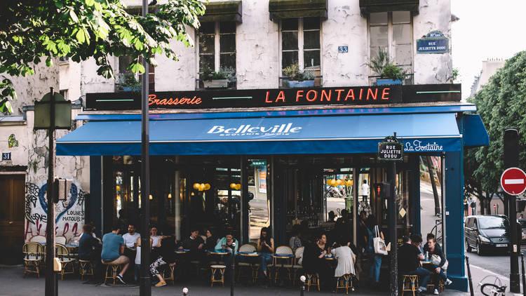© La Fontaine de Belleville