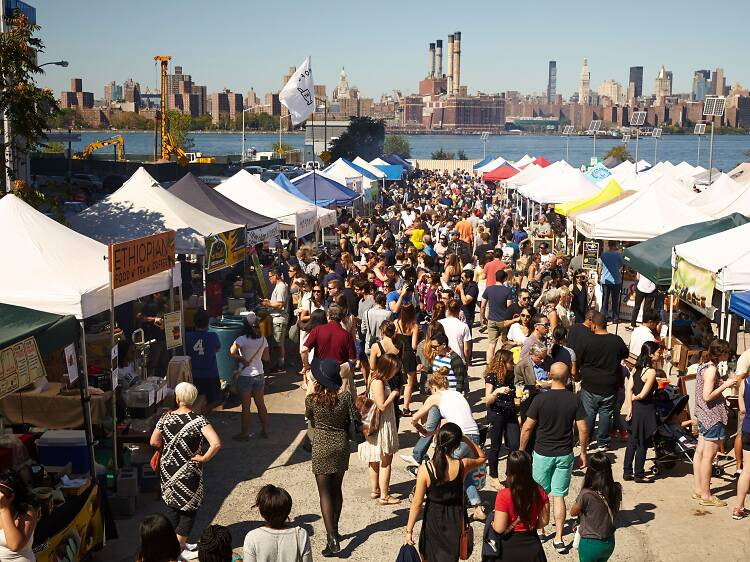 Try the city's best bites at Smorgasburg