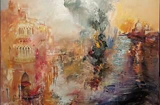 Barco en llamas. Gloria Muñoz