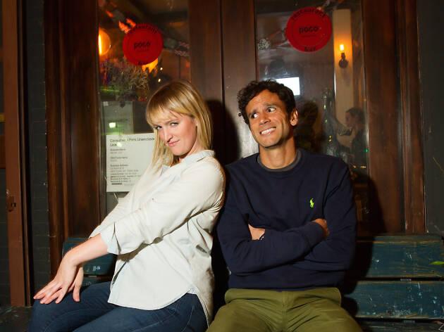 Courtney Maginnis and Tom Delgado