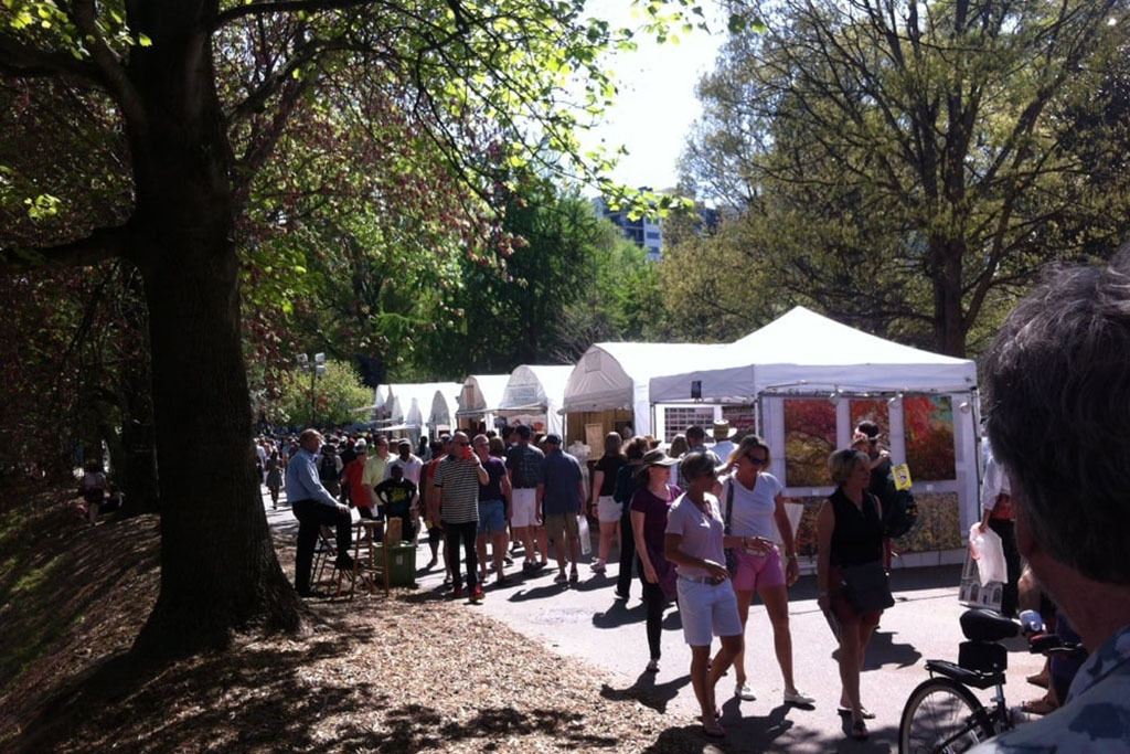 The Atlanta Dogwood Festival