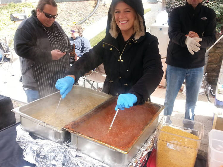 Chomp and Stomp Chili Cook-Off