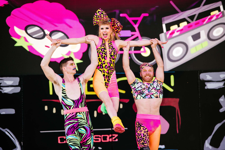 Circus Oz: Neon Reboot | Melba Spiegeltent: Circus Oz headquarters | Theatre in Melbourne