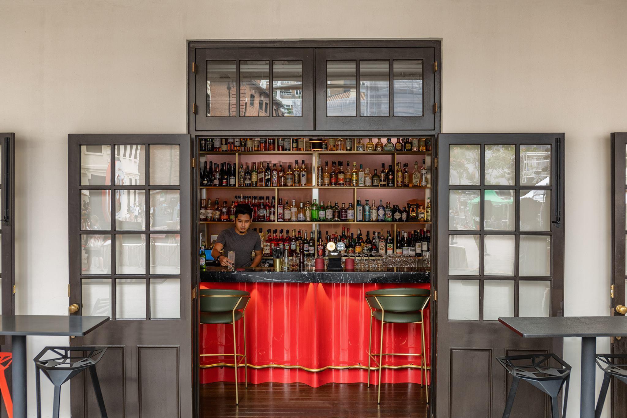 Bar At Armoury