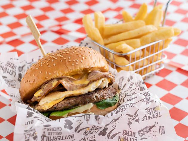 Food Truck Festival burger