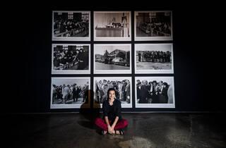(Cherine Fahd 'Apókryphos' 2018–19. Photograph: Anna Kucera)