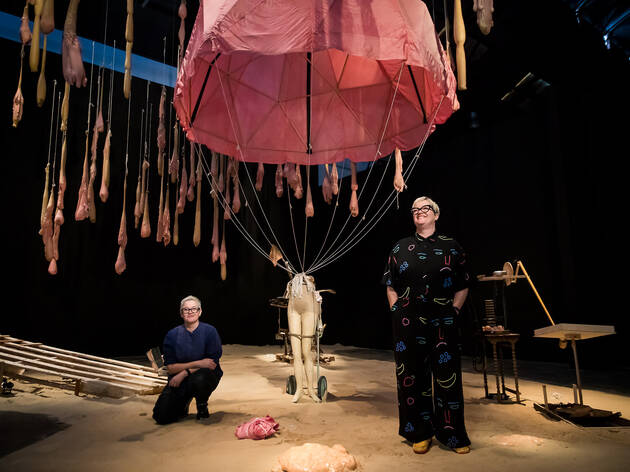 (Mish Meijers & Tricky Walsh, 'The Crocker Land Expedition' 2018. Photograph: Anna Kucera)