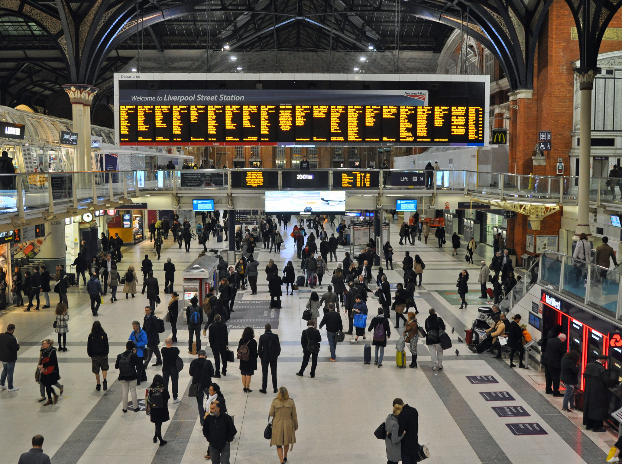 You can now pee for free at every major London station