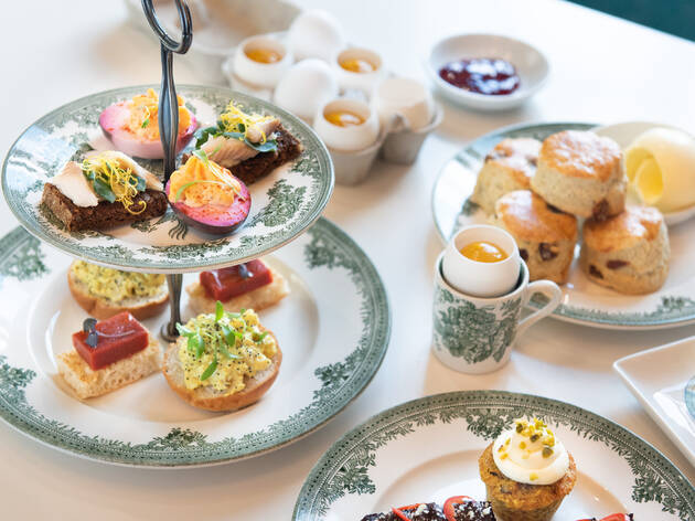 The Incurably Curious afternoon tea at Wellcome Collection