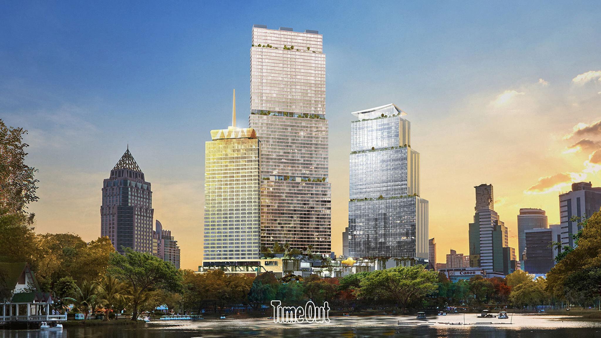เปิดภาพแรก Dusit Central Park อวตารร่างใหม่ของโรงแรมดุสิตธานี