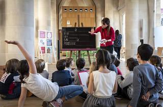 Taller de Setmana Santa a la Sagrada Família