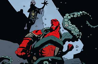 Hellboy comenzó como una serie de cómics