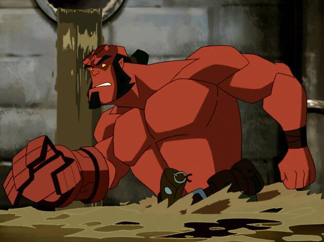 Hellboy: Blood and Iron es una de las dos series inspiradas en Hellboy