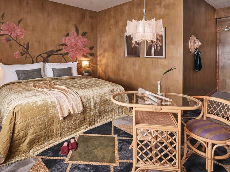 Book a night at a swanky hotel