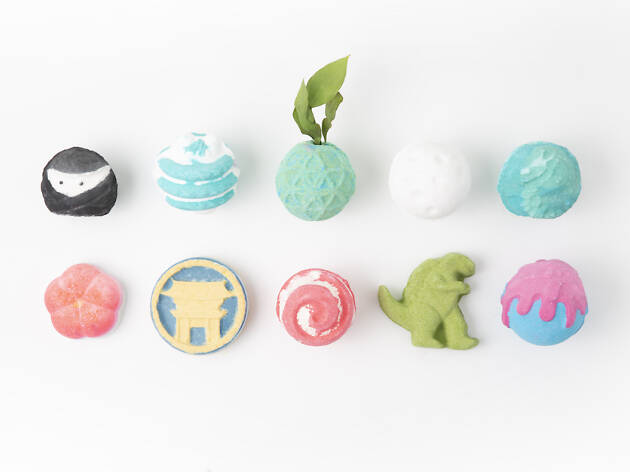 Lush releases 13 Japan-inspired bath bombs exclusive to Harajuku store