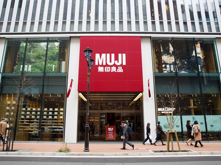 Live the full Muji life at Muji Ginza