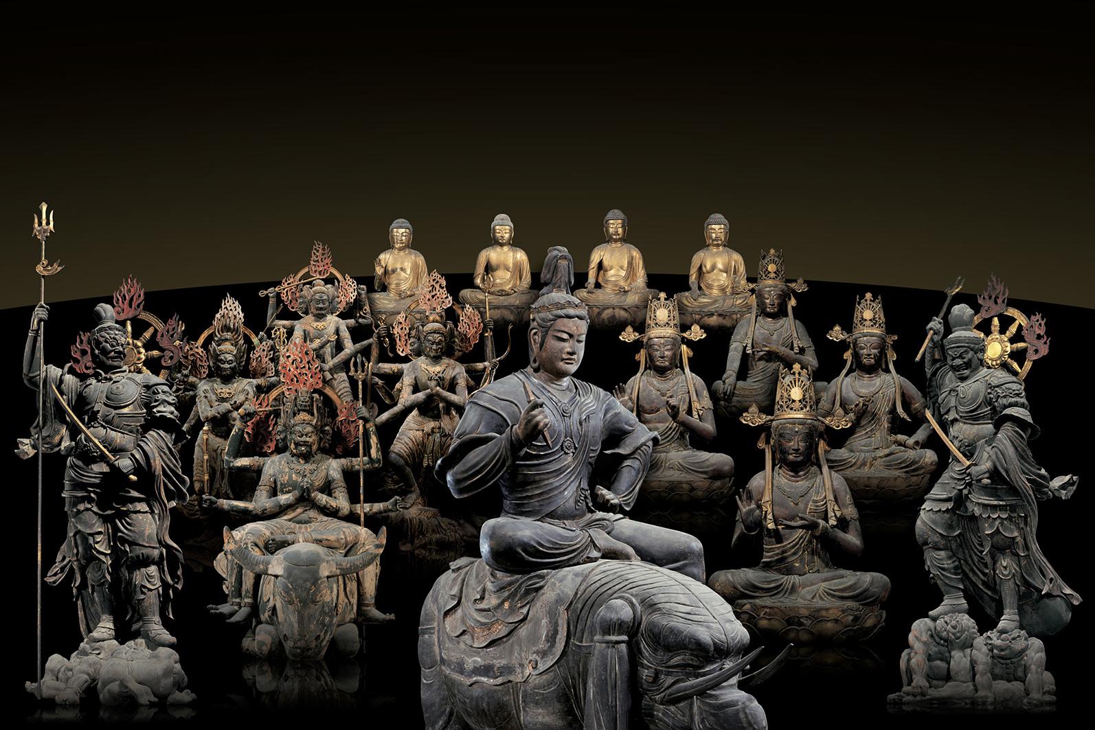 National Treasures of To-ji Temple