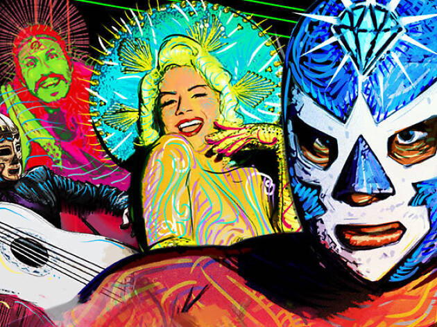 Win two tickets to Lucha Vavoom to celebrate Cinco de Mayo