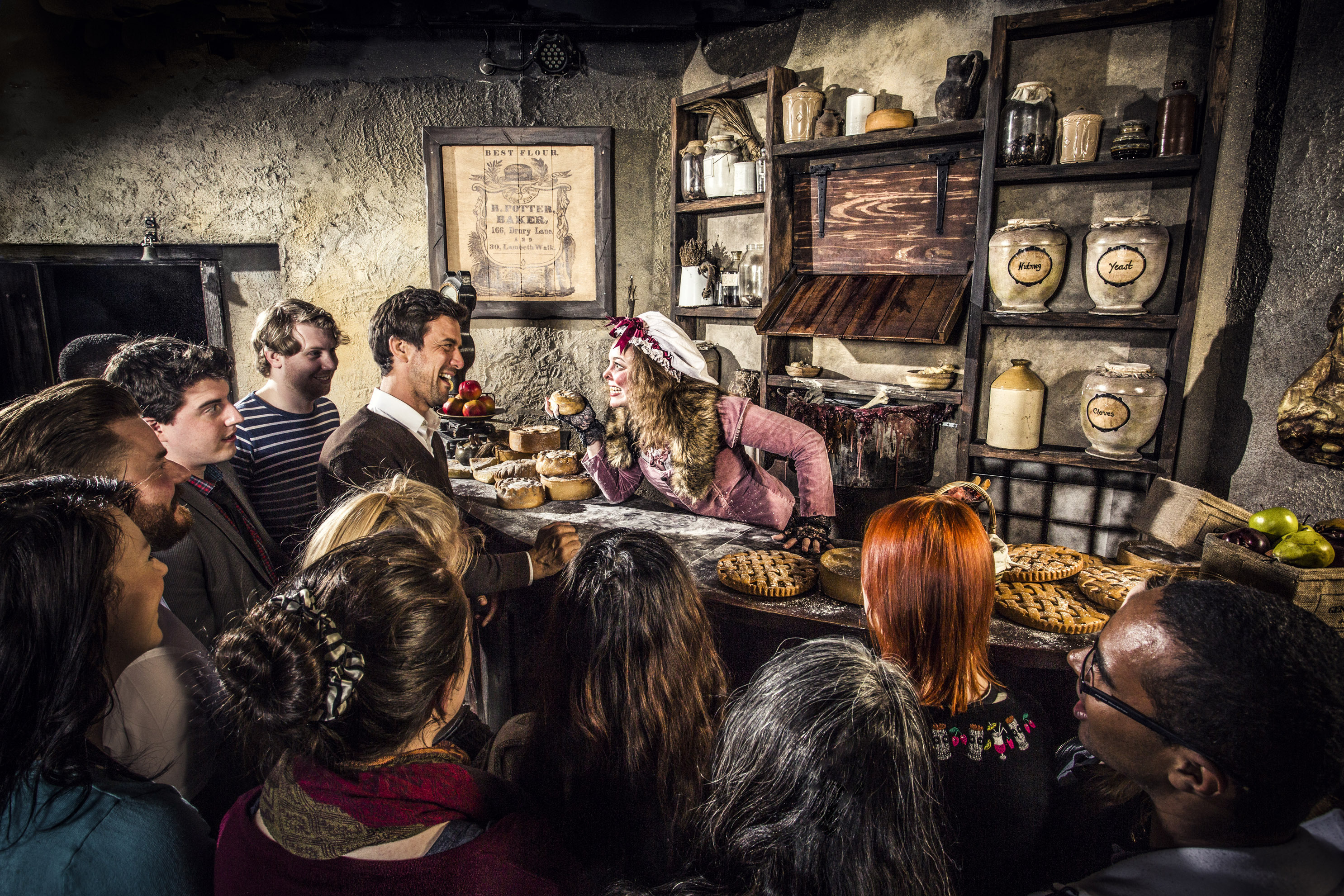 London dungeon adult venue