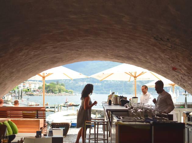 Sea Lounge at Seven Bar, Ascona Locarno campaign