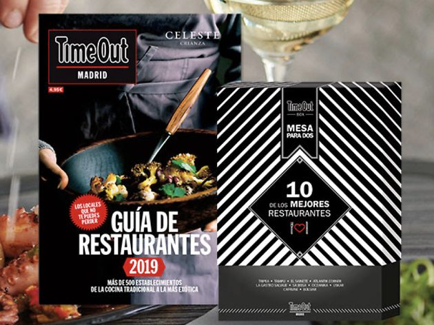 Pack foodie Guia restaurantes Time Out Box