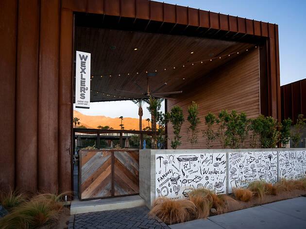 Wexler's Deli at Arrive Hotel in Palm Springs