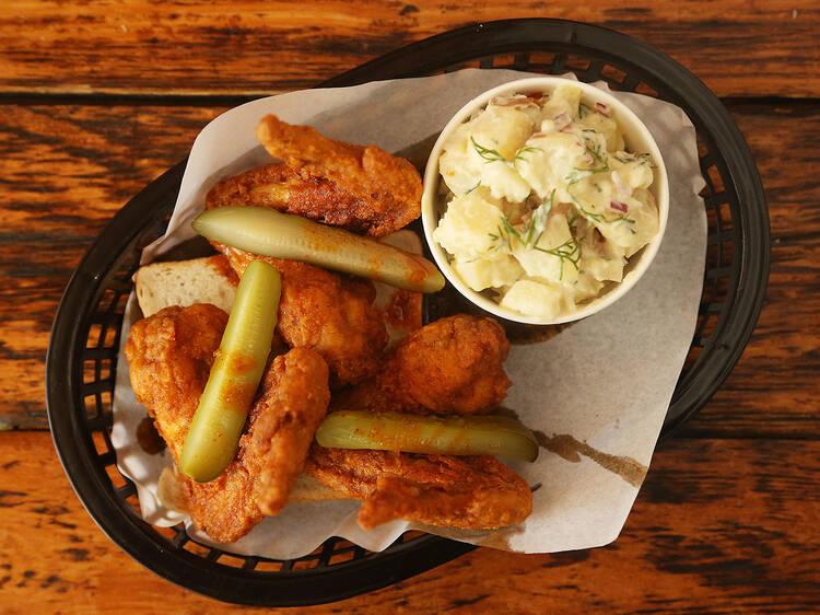 Really F**king Hot Chicken at Belle's Hot Chicken