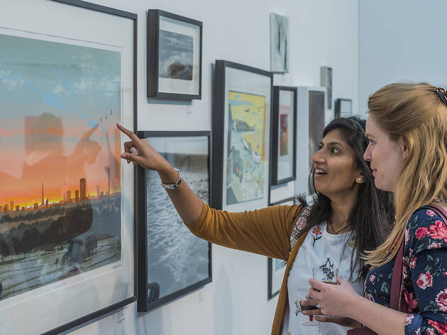 50% off tickets to Affordable Art Fair Hampstead