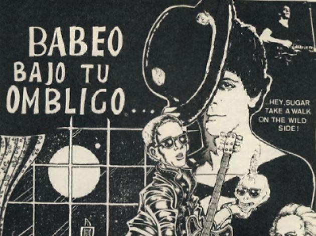 Vibracions Underground: interferències entre còmic i rock and roll