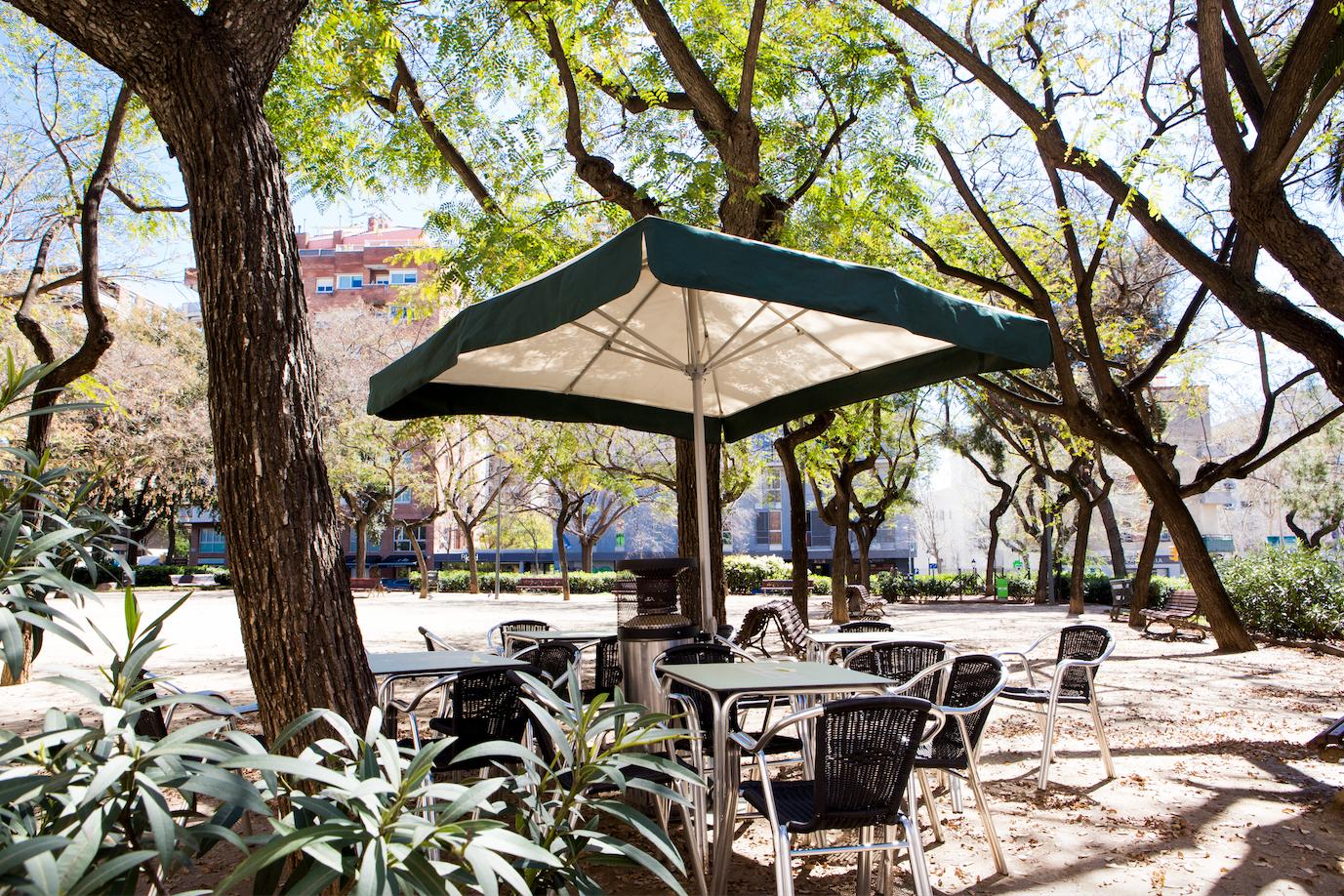 Podrà funcionar una terrassa com la del Toni Bigoti amb una sola taula?