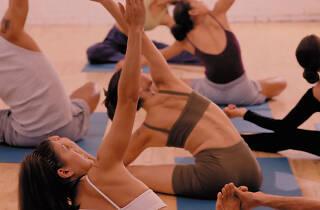 Super Bloom Festival yoga