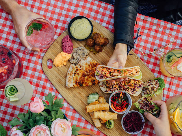 The Wharf Hotel is launching a guilt-free garden party