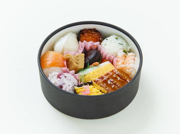 Best bento: Sasahachi Temarizushi Bento