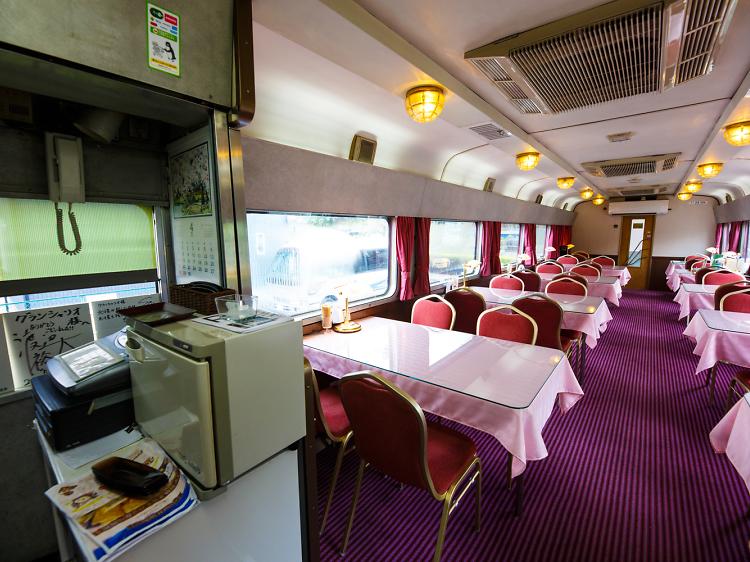 東京、走らない列車レストラン5選