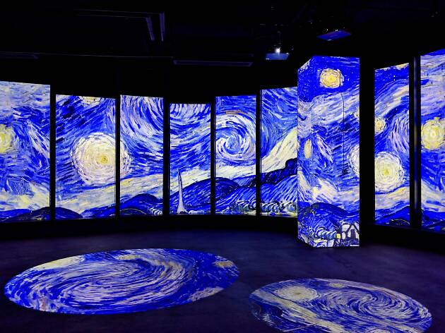 Check out the stunning multi-sensory exhibition bringing Van Gogh's artworks to life
