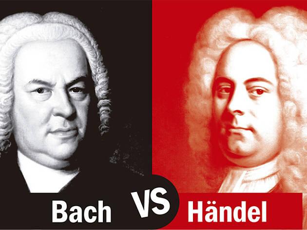 Bach y Händel, cara a cara