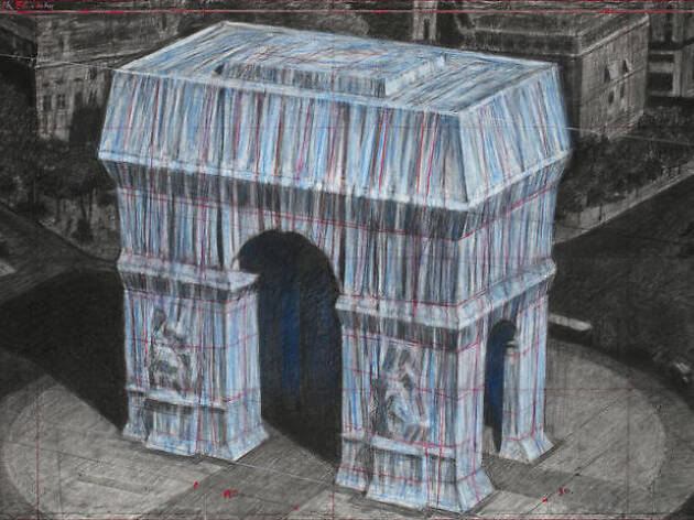 L'artiste Christo va emballer l'Arc de Triomphe l'an prochain!