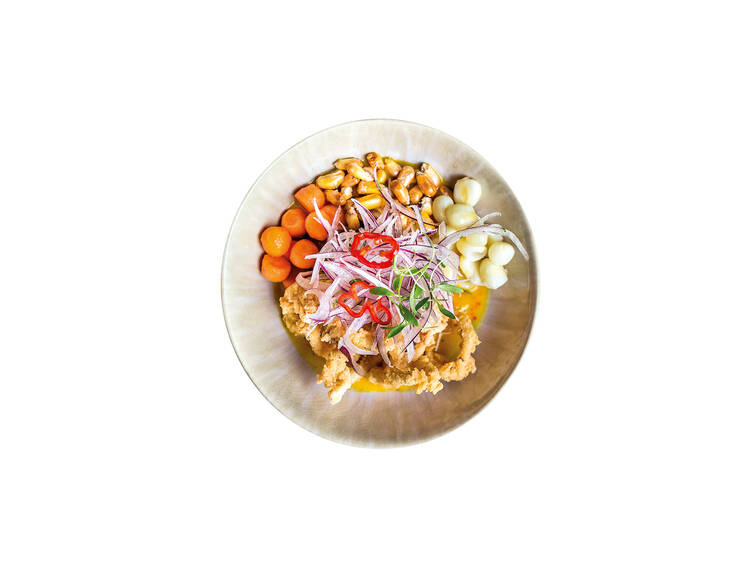 Ceviche clássico – Cantina Peruana