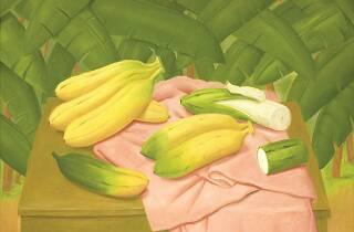 Fernando Botero, Still life with bananas, 2018