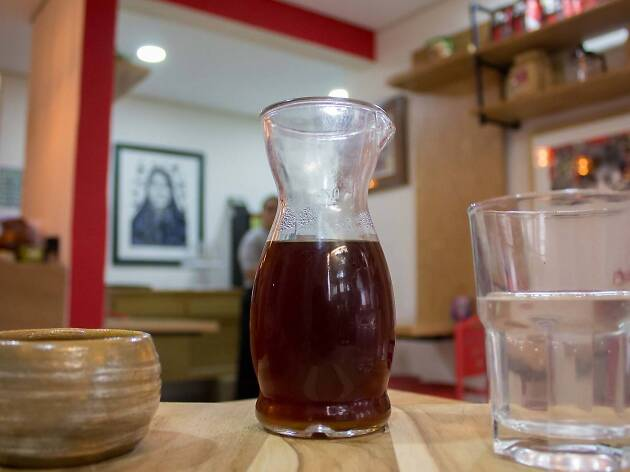 Café Café Narvarte cold brew
