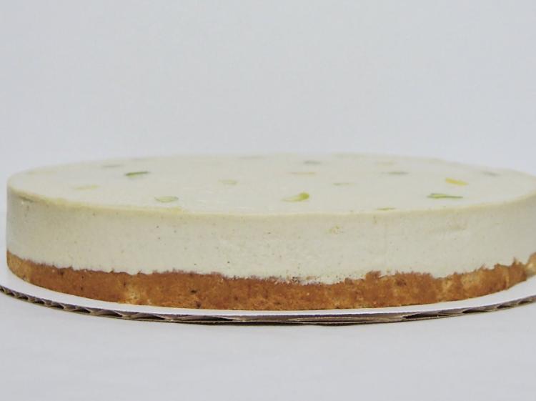 Pistachio cake at Burrow