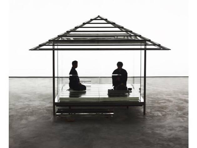 吉岡徳仁 ガラスの茶室 - 光庵