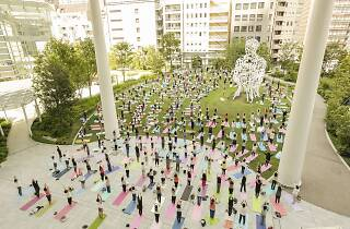 Our Parks Toranomon Hills Yoga Spring