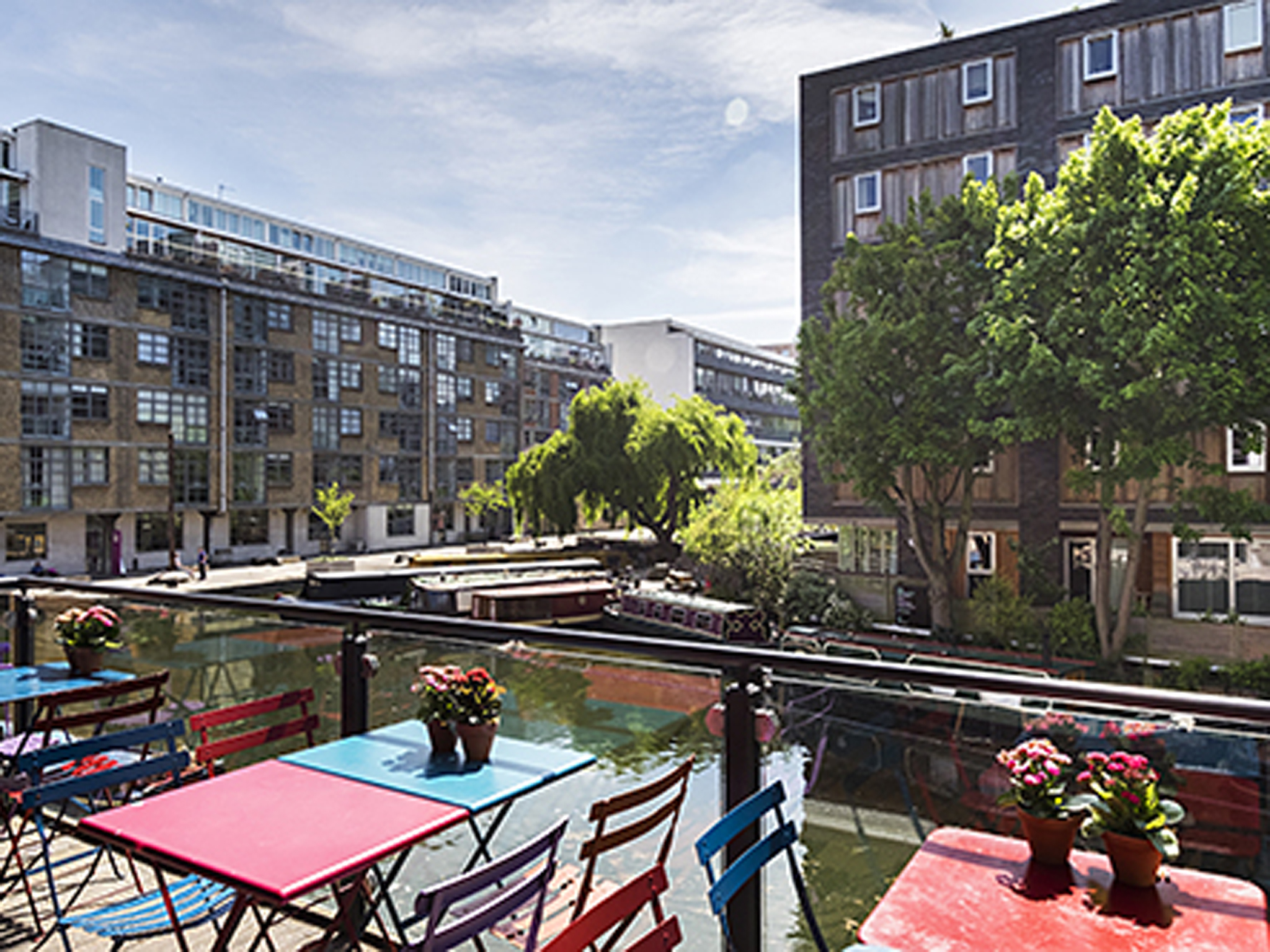 narrowboat islington, london's best riverside pubs