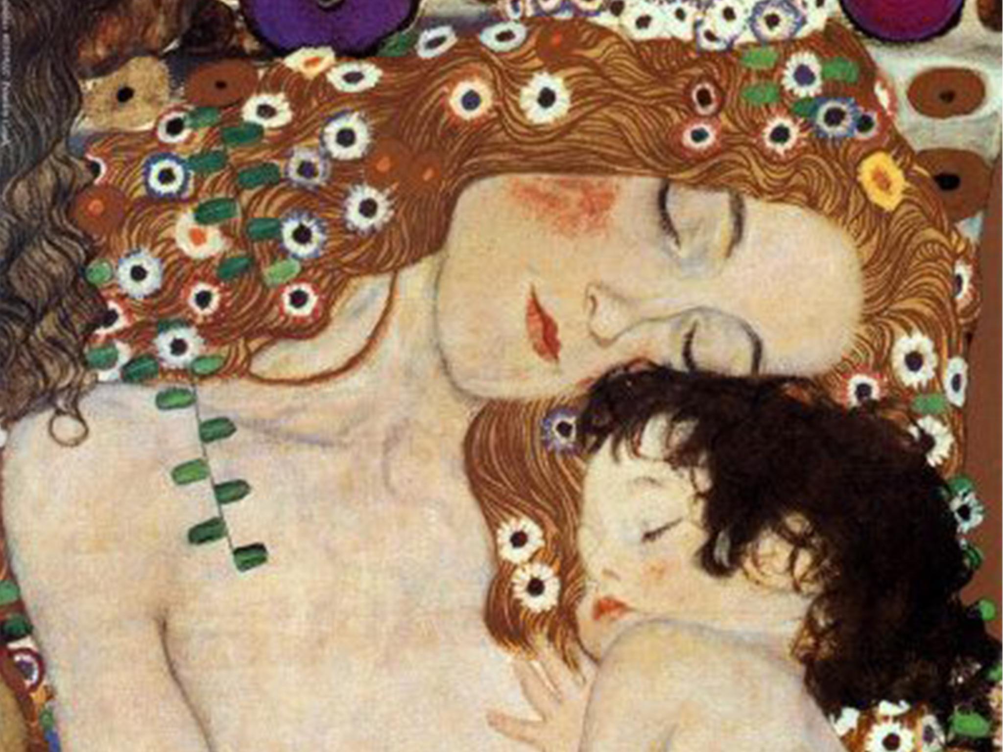 """""""Maternidade"""" de Gustav Klimt"""