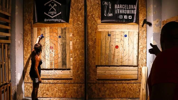 Barcelona Axe Throwing